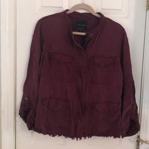 Sanctuary Maroon jacket